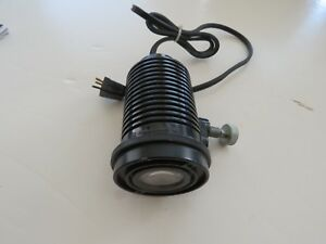 Bausch Lomb Laboratory Microscope Light 3 pin Lamp House Illuminator Head