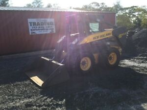2005 New Holland Ls185 b Skid Steer Loader