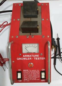Snap on Mt 326c Growler Armature Tester Mt326c Snapon