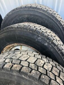 19 5x6 8 Lug Gm Wheel Rim P30 Dually Wheel With Tires 6 With Bridgestone