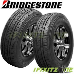 2 Bridgestone Dueler Hl Alenza Plus P245 70r16 106h Touring All Season Tires