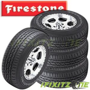 4 X Firestone Destination Le 2 P215 75r15 100t Tires