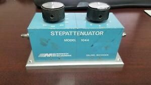 Midwest Microwave Model 1044 Step Attenuator Dc 4ghz Read