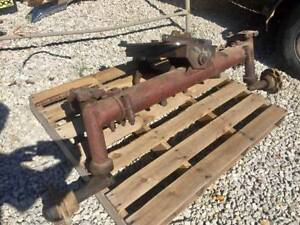 Speeco Tractor Adjustable Wide Front End Rf2917 Came Off Of A 961 Ford