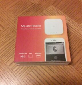 New Square Reader Contactless Chip Magstripe