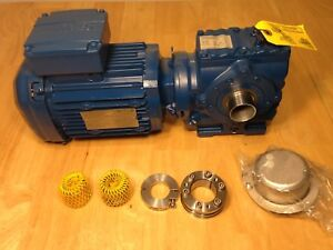 Sew Eurodrive Gear Motor With Left right Reducer St47dre80m4 dh 230 460v