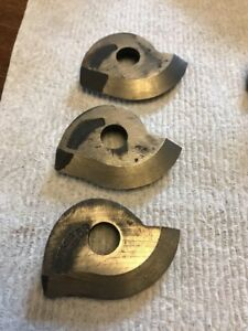 3 Nos Armstrong Hss Threading Tool Insert Cutters 53 Sharp V Profile