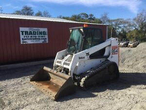 2001 Bobcat 864 Tracked Skid Steer Loader W Cab
