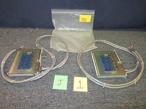 2 Hp Hewlett Packard 60 Channel Single Ended Relay Multiplexer Military Surplus