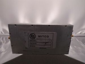 Miteq 3183 15 5 0 Sma Rf Microwave Amplifier 5 0mhz