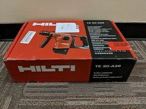 Hilti Te 30 a36 36v Cordless Combihammer Bare Tool With Charger no Battery