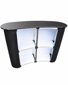 Pop Up Podium Counter Speech Table Promotion Retail Trade Show Display Stand