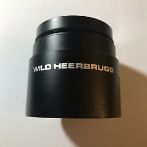 Wild Heerbrugg Plan 1x Objective For Stereo Microscope