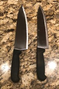 14 1 2 15 Columbia Cutlery Commercial Chef Knife Black Handle 2 Per Order