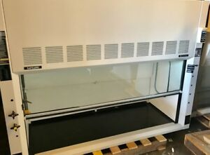 6ft Fisher Safeaire Fume Hood With Chemical Storage Cabinets warrantied