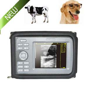 Digital Handheld Ultrasound Scanner Machine 6 5 Rectal Probe Animal Veterinary