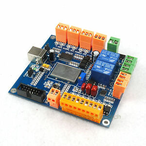 4 Axes Usb Cnc Controller Compatible For Usbcnc Usbcnc 2 1