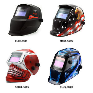 Solar Powered Auto darkening Welding Helmet Grinding Tig Welder Mask Four Type