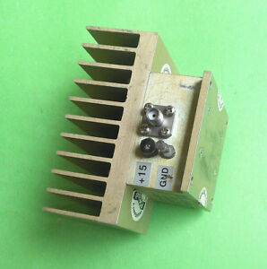 1pc Used Good Pseicct Uts 1025 1 10mhz 1 25ghz 20db 30dbm Amplifier