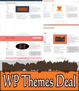 Wp Themes Deal Discover How To Get Access To 300 Wordpress Responsive Themes