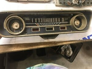 1964 64 Ford Falcon Speedometer Instrument Cluster Gauges