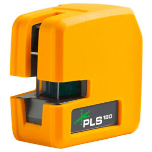 Pacific Laser Systems Pls180 200 foot 2 beam Green Line Laser Level 4914052