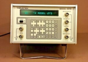 Wavetek Model 275 Programmable Arbitrary function Generator cs65