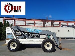 Terex Th844c Telescopic Boom Lift Truck Forklift diesel 8 000 Lbs 44ft Ht