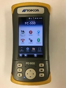 Topcon Fc 500 Data Collector With Internal Gps And 3g Modem