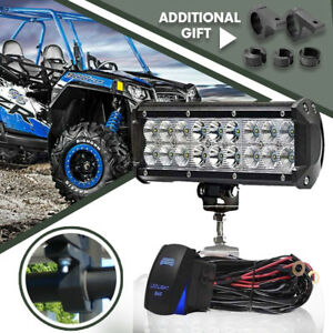 9 54w Spot Flood Driving Lights Led Bar Light Off Road For Atv Ford