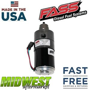 Fass Adjustable Fuel Pump 165gph For 2010 14 Dodge Ram 2500 3500 Cummins 6 7l V8