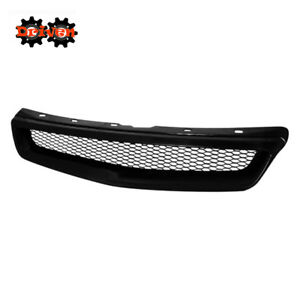 For 99 00 Honda Civic 2 3 4 Door Type R Mesh Front Grill Coupe Sedan Si Ex Dx