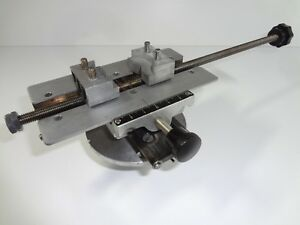 New Hermes Engravograph Universal Self centering Workholding Vise