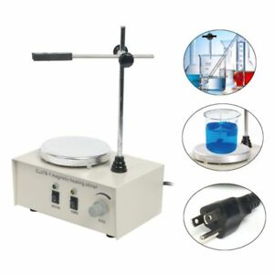 78 1 Magnetic Stirrer Hot Plate Magnetism Heating Mixer 1000ml 110v 60hz New