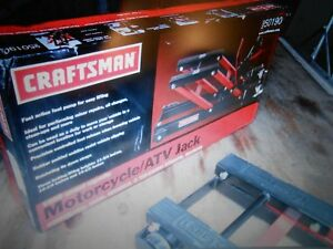 Craftsman 1500 Lb Motorcycle atv Jack New In Box Deal