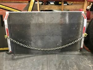 Used Dock Plate Aluminum 60 X 36 15000lb Grit Surface