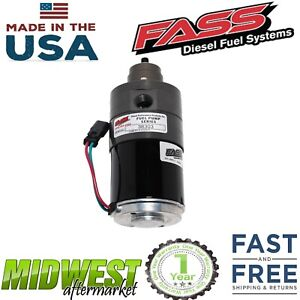 Fass Adjustable Fuel Pump 260gph For 05 09 Dodge Ram 2500 3500 Cummins 6 7l 5 9l