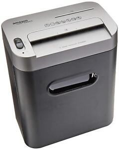 Amazonbasics 8 sheet High security Micro cut Paper Cd And Credit Card Shredder
