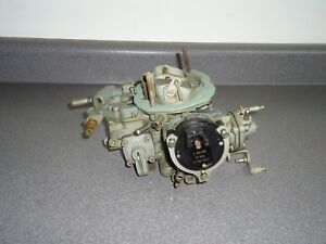 Reman Holley 6520 2 Barrel Carburetor 40003 1 1983 Dodge Plymouth Chrysler 2 2l