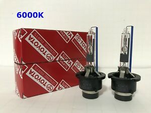 2pcs New Toyota Xeneco D4r 42406 6000k Oem Hid Xenon Light Bulbs Set