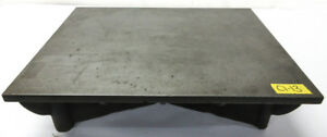 20 X 16 Cast Iron Surface Fixture Layout Plate For Metalworking