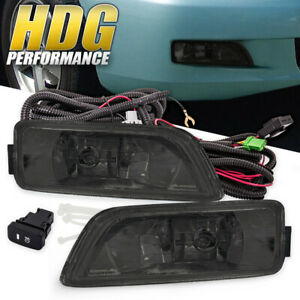 For 2004 2008 Acura Tl 2003 2007 Honda Accord Smoked Fog Lights W Wiring Kit