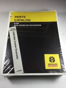 New Holland Eh80 Excavator Parts Catalog Manual