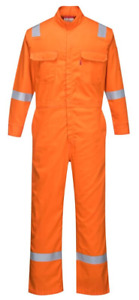 Portwest Bizflame 88 12 Iona Fr Coverall Arc2 Sizes S 6xl Orange Fr94
