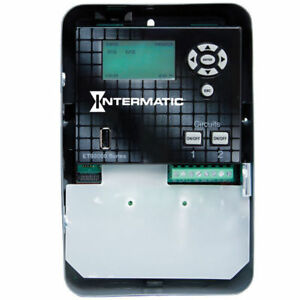 Intermatic Electronic Timer astro 365 Days spdt Et90215c Gray Free Shipping