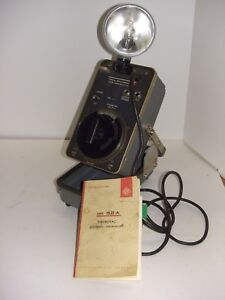 General Radio Company 1531 a Strobotac Electronic Stroboscope Tachometer Working