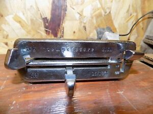 1962 Mercury Meteor Dash Heater Controls Comet 1963 1961 Fairlane