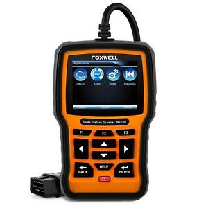Foxwell Nt510 Automotive Scanner For Bmw Obd Ii Code Reader New Version