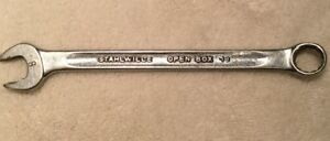Stahlwille Tools Open Box End 13 Metric 9mm Combination Wrench Chrome Germany F