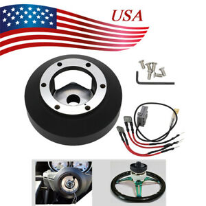 Steering Wheel Short Hub Adapter Fit For Nissan 350z 370z G35 G37 Ser Srk 141h